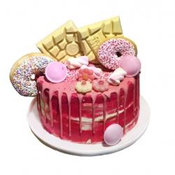Tony's Pink Fantasy Drip Cake