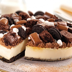 Candy shop cheesecake