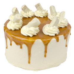 Apple Twix Layer Cake