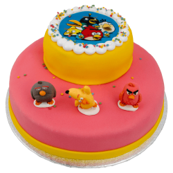 3D Angry Birds Taart