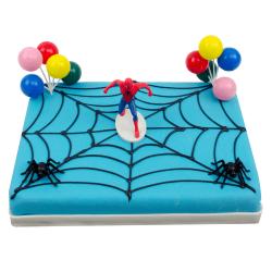 Spiderman Marsepeintaart
