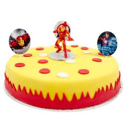 Iron Man Marsepeintaart