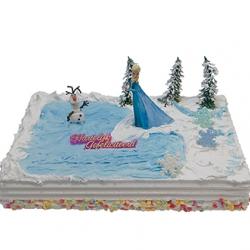 Frozen - Elsa Kindertaart