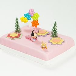 Minnie Mouse babymarsepeintaart
