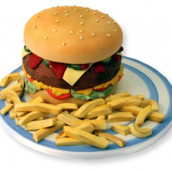Hamburgertaart