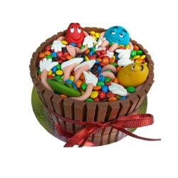 M&M 3D taart