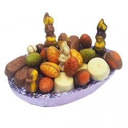Paasei Chocoschaal Luxe