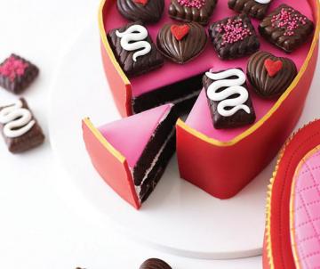 Candy Box Cake