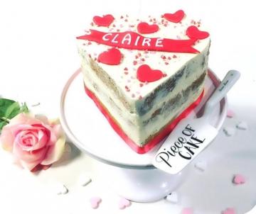 Love hart taart
