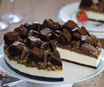 Sidoli Gluten free triple chocolate cheesecake