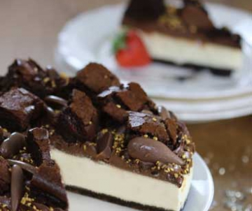 Sidoli Gluten free triple chocolate cheesecake