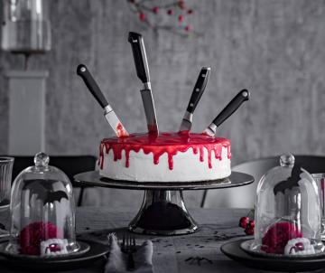 Bloody halloween taart