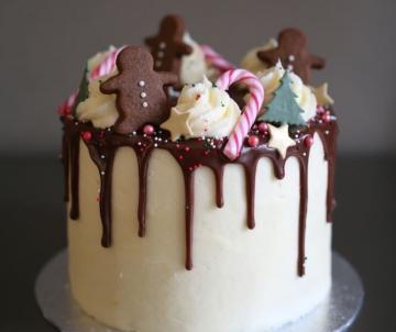 Drip Cake Christmas