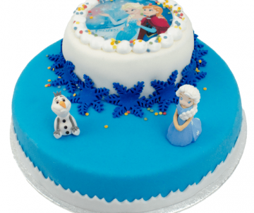 3D Frozen Taart