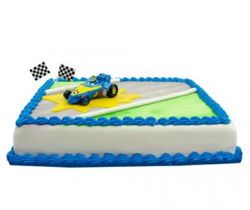 Roadster Racers Donald Duck Taart