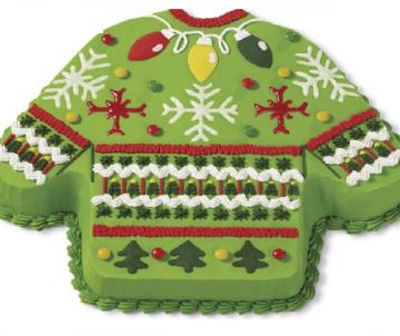 Kerst Trui Taart Groen