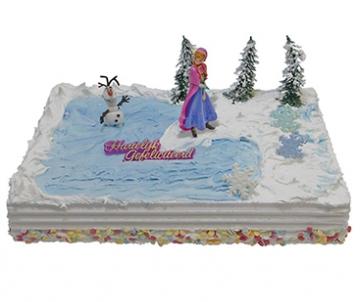 Frozen - Anna Kindertaart