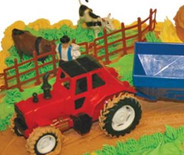 Boerderij kindertaart