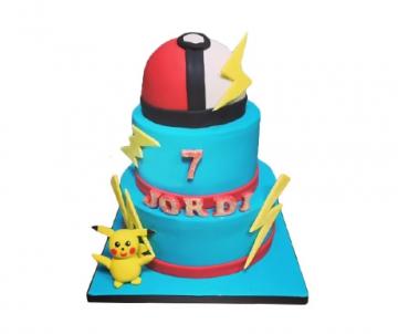 Pokémon 3D taart