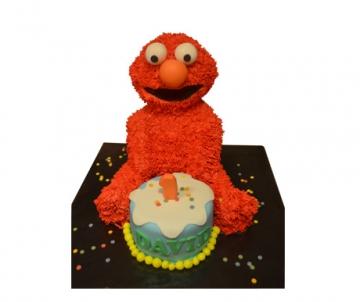 Elmo 3D taart