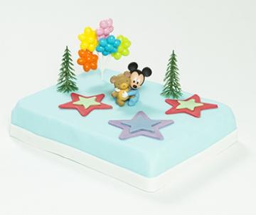 Mickey Mouse babymarsepeintaart