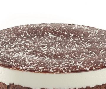 Chocolate Bavarois taart