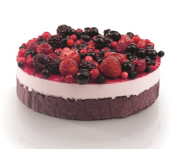 Forest Fruit Bavarois taart