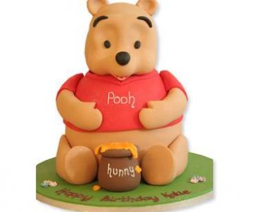 Winnie the Poohtaart