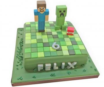 Minecrafttaart