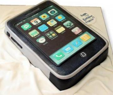 Iphone-taart