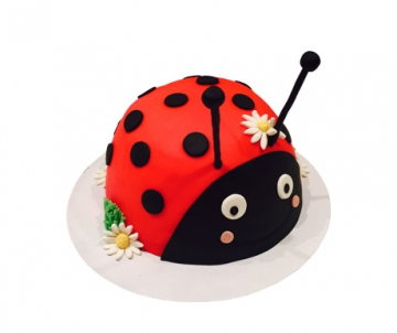 Lieveheersbeestje 3D taart