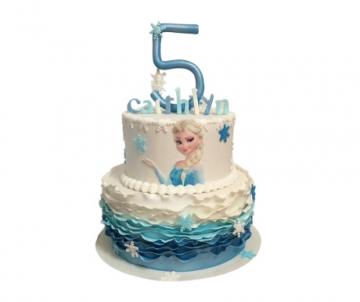 Frozen Elsa 3D taart