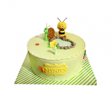 Maya de Bij 3D taart