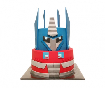 Transformers 3D taart