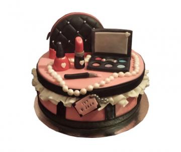 Make-up 3D taart