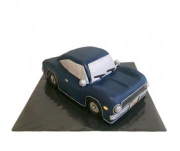 Auto 3D taart