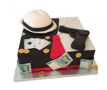 Maffia 3D taart