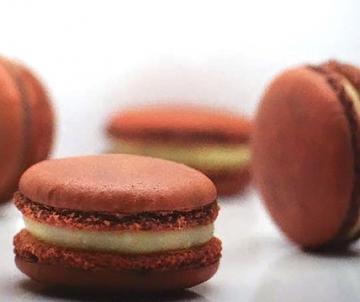 Kokos Macarons