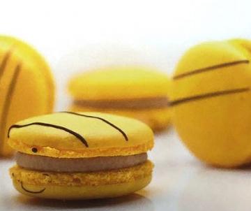Bananen Macarons