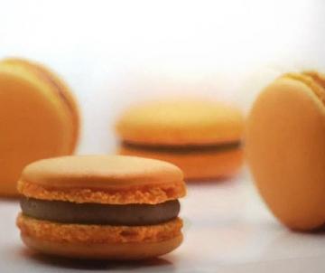 Passievrucht Macarons