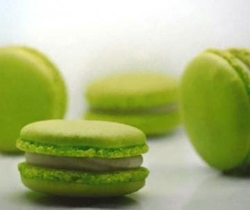 Pistache Macarons