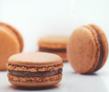 Coffee Karamel Macarons